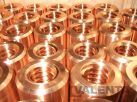 Round nuts with trapezoidal thread made of bronze CuSn8