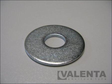 For rivets (DIN 9021)