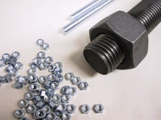 Rods, nuts, washers