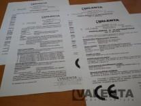 Standard certificates and declarations